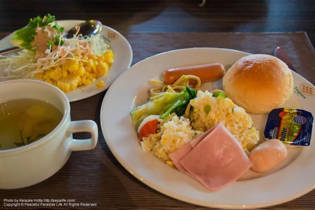 トンタラ・リバービュー・ホテルの朝食