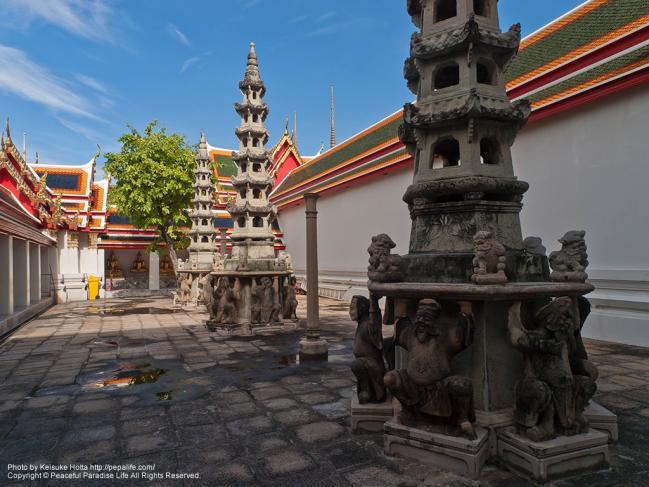 ワット・ポー(Wat Pho)の仏塔