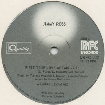 DG_JIMMY ROSS_FIRST TRUE LOVE AFFAIR_201305