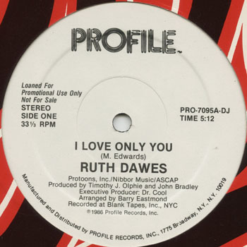 DG_RUTH DAWES_I LOVE ONLY YOU_201305