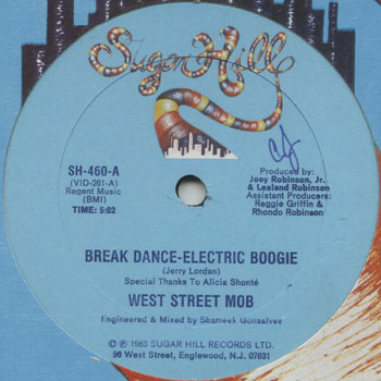 HH_WEST STREET MOB_BREAK DANCE ELECTRIC BOOGIE_201305