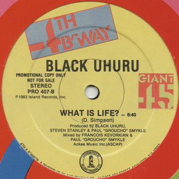 DG_BLACK UHURU_WHAT IS LIFE_201305