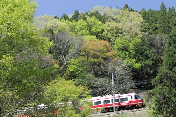 2013/4/28 南海高野線 紀伊神谷~極楽橋