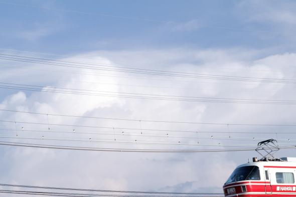 2013/8/18 南海高野線 我孫子前~浅香山