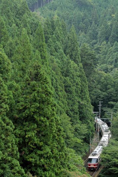 2013/9/14 南海高野線 紀伊神谷~極楽橋