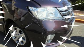村上車の損傷 (2)
