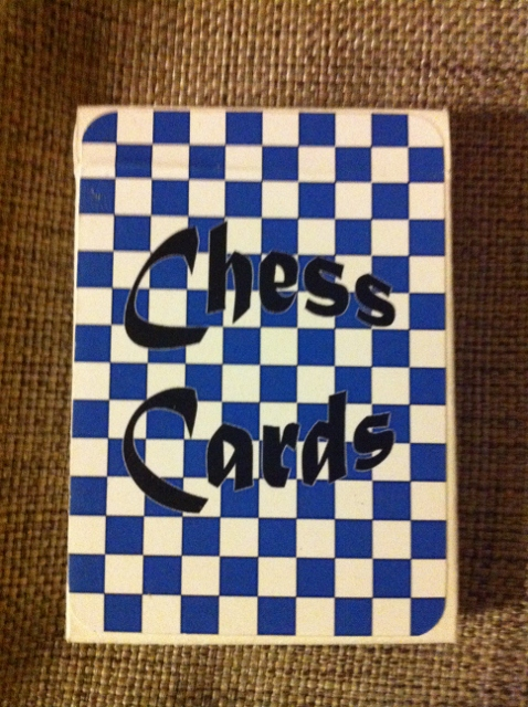 chess cards box