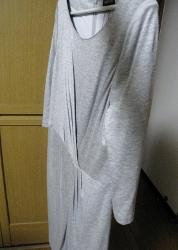 INDIVI グレーワンピース (178x250)