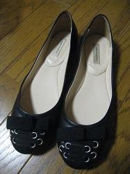 靴 フラットシューズ