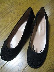 靴 ベロア