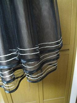 SOV チュールスカート黒02
