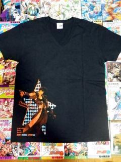 JOJOraDIOスペシャルイベントグッズ「ジョジョTシャツ 第1部」全体