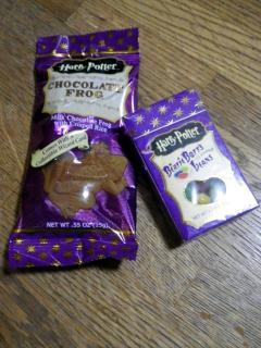 バーディー・ボッツの百味ビーンズと蛙チョコレート
