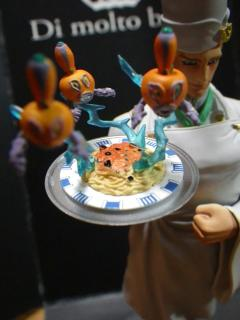 スタチューレジェンド「トニオ・トラサルディー」娼婦風スパゲティーとパール・ジャム