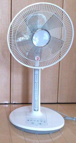 扇風機・新 HEF-80M