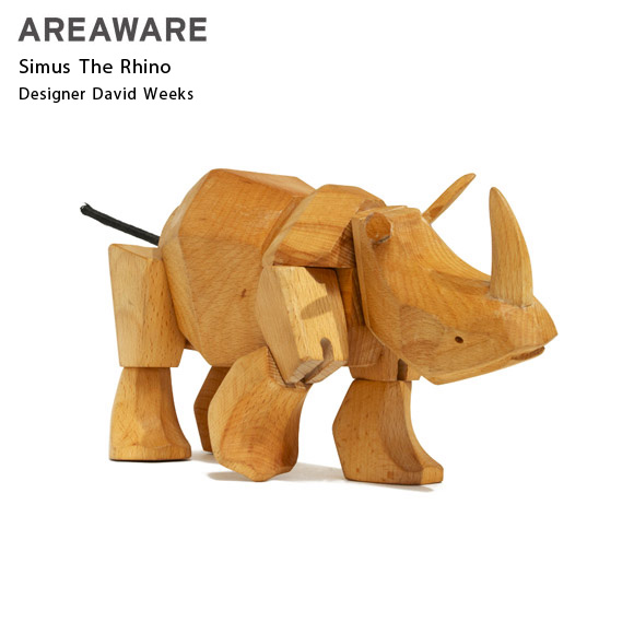 AREAWARE Simus The Rhino