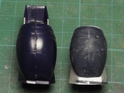 ダグラム下腿部・比較後部
