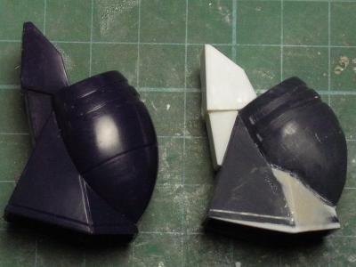 ダグラム膝改修・横