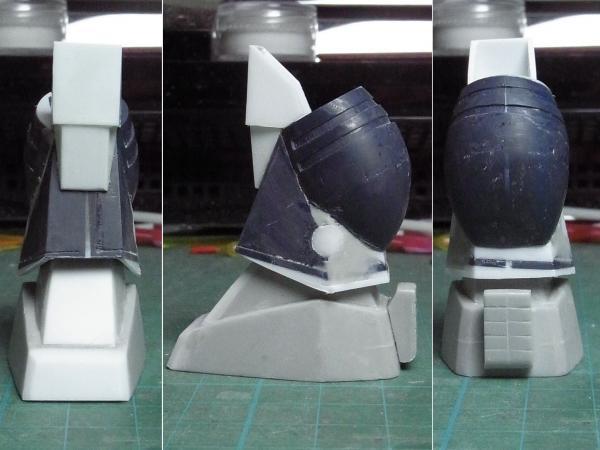 ダグラム・足首関節組込形状