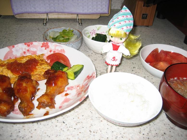 レトちゃん母の日料理