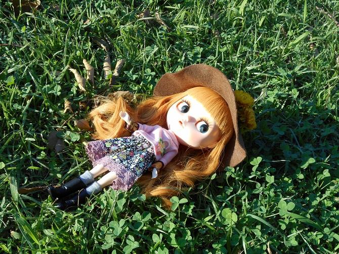 1 アンナと秋の公園