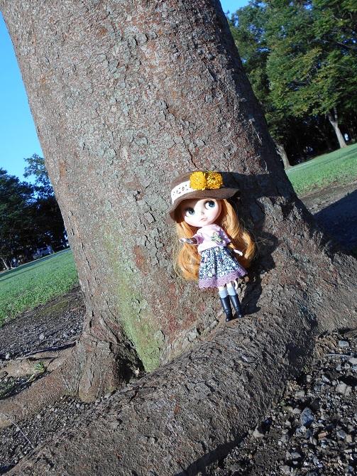 7 アンナと秋の公園