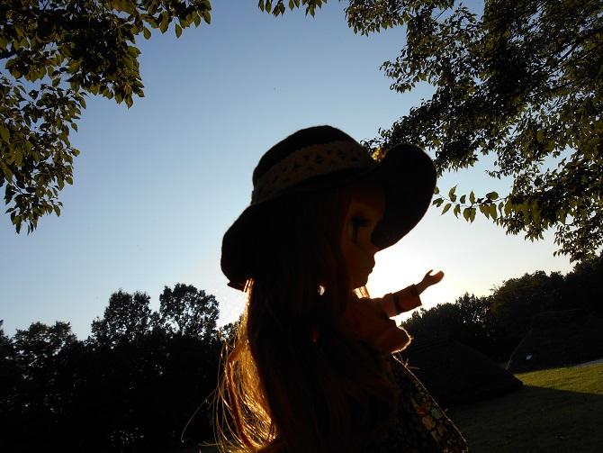 13 アンナと秋の公園