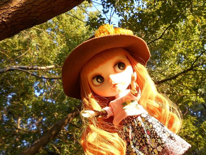 14 アンナと秋の公園