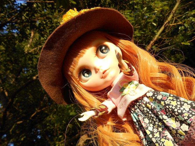 15 アンナと秋の公園