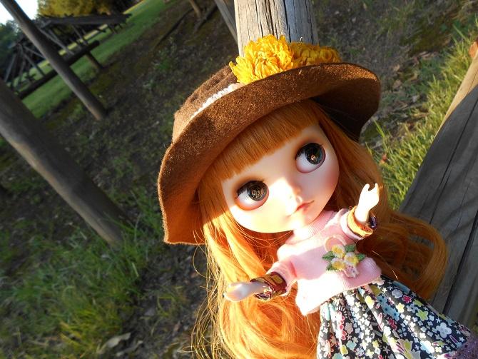 16 アンナと秋の公園