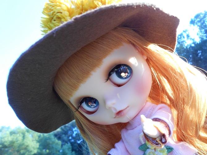 18 アンナと秋の公園