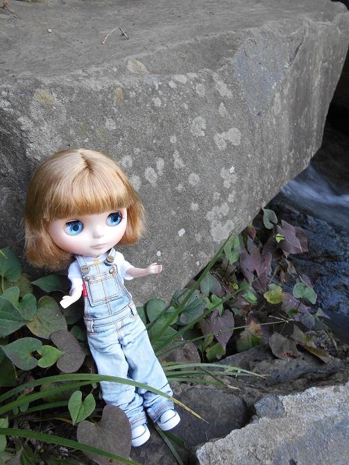 2 滝の傍