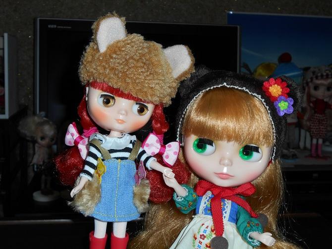 3 仲良しミミ&ミシャ