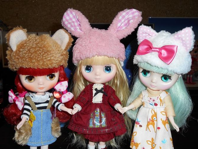 3 クマ&ウサギ&ネコ