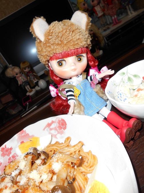 5 ミミちゃん初めてのディナー