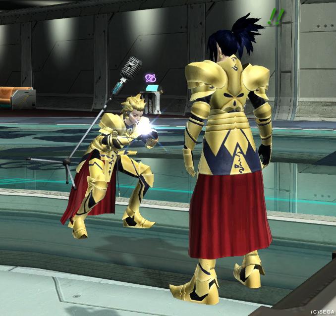 英雄王さんと太陽王さん