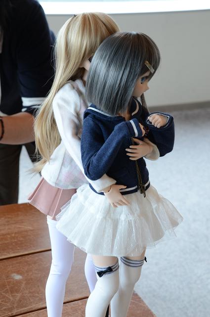 小隠里@月子、天使の里に立つ