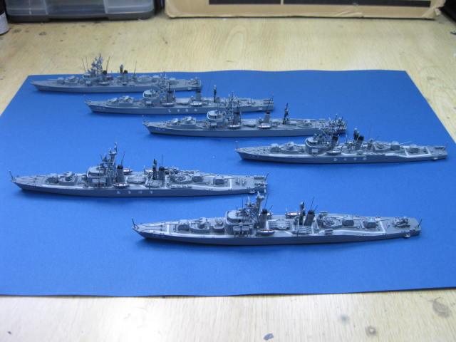 オランダ坂 護衛艦