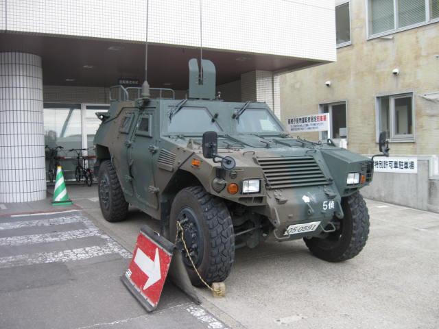 軽装甲機動車の1