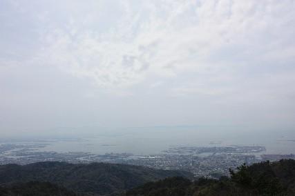 六甲山頂景色