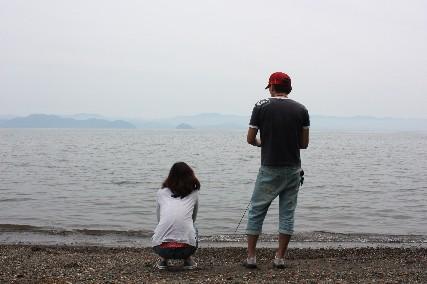 13jun琵琶湖畔ふたり
