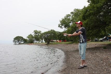 13jun琵琶湖畔釣り