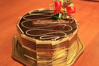 2013Xmasヴィタメールチョコレートケーキ