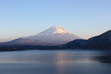 2013大晦日本栖湖富士山