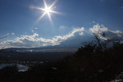 2014山中湖元旦マウント富士