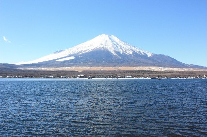 2014山中湖荘1月2日富士山