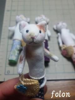 三毛猫鉛筆キャップ04