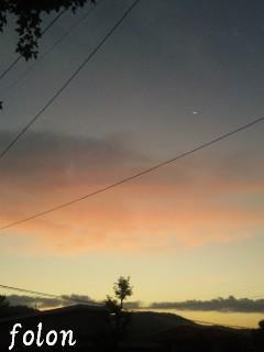 秋の空~朝