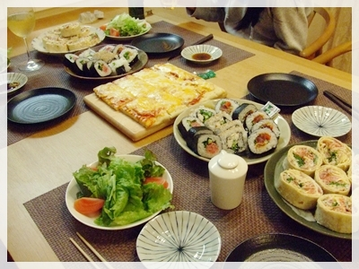 コストコ夕飯2