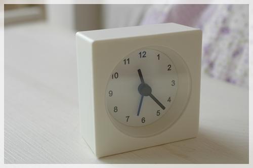 IKEAの目覚まし時計